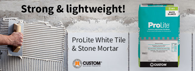 Custom Building Products Tile and Stone Mortar