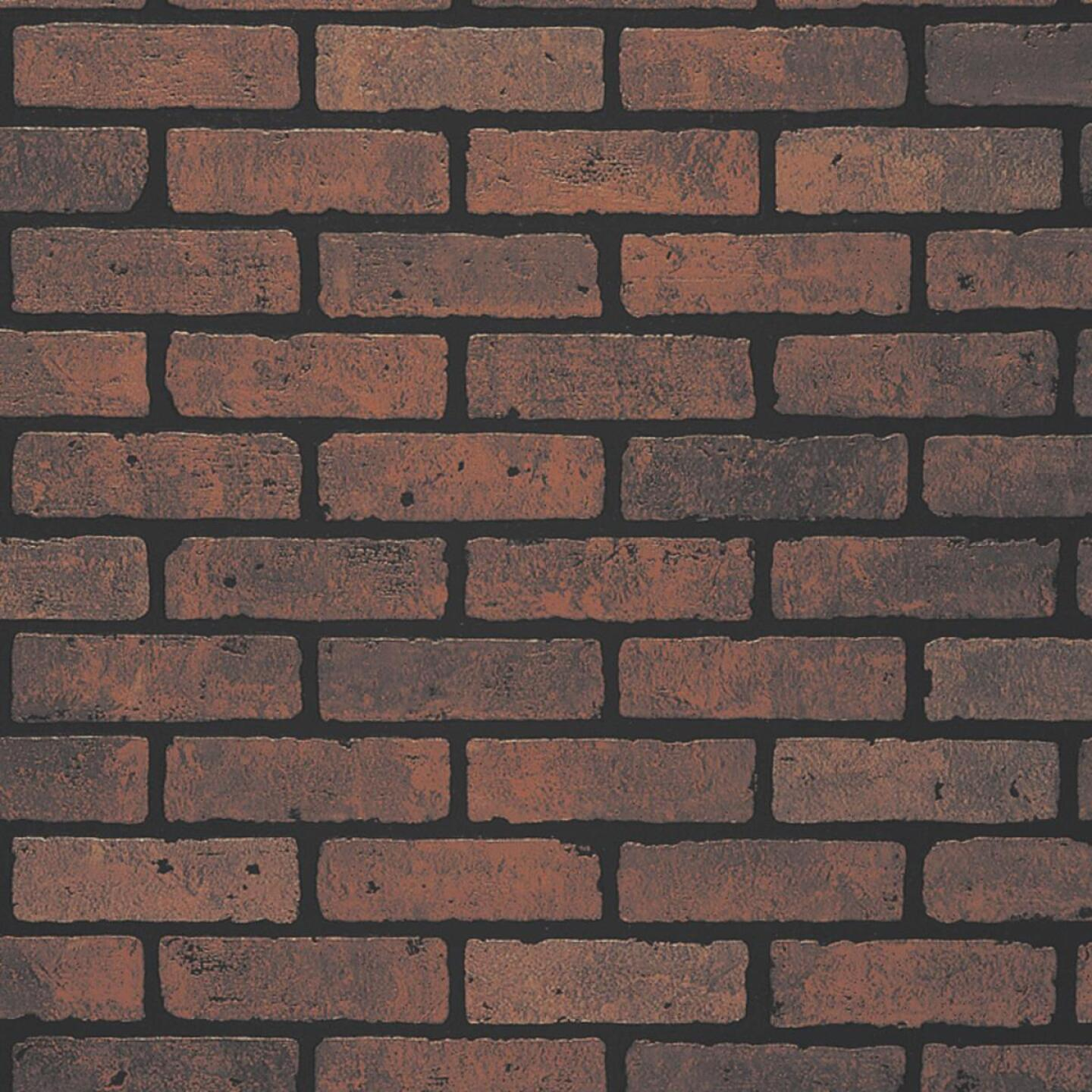 DPI 4 Ft. x 8 Ft. x 1/4 In. Red Brick Gaslight II Wall Paneling Image 1