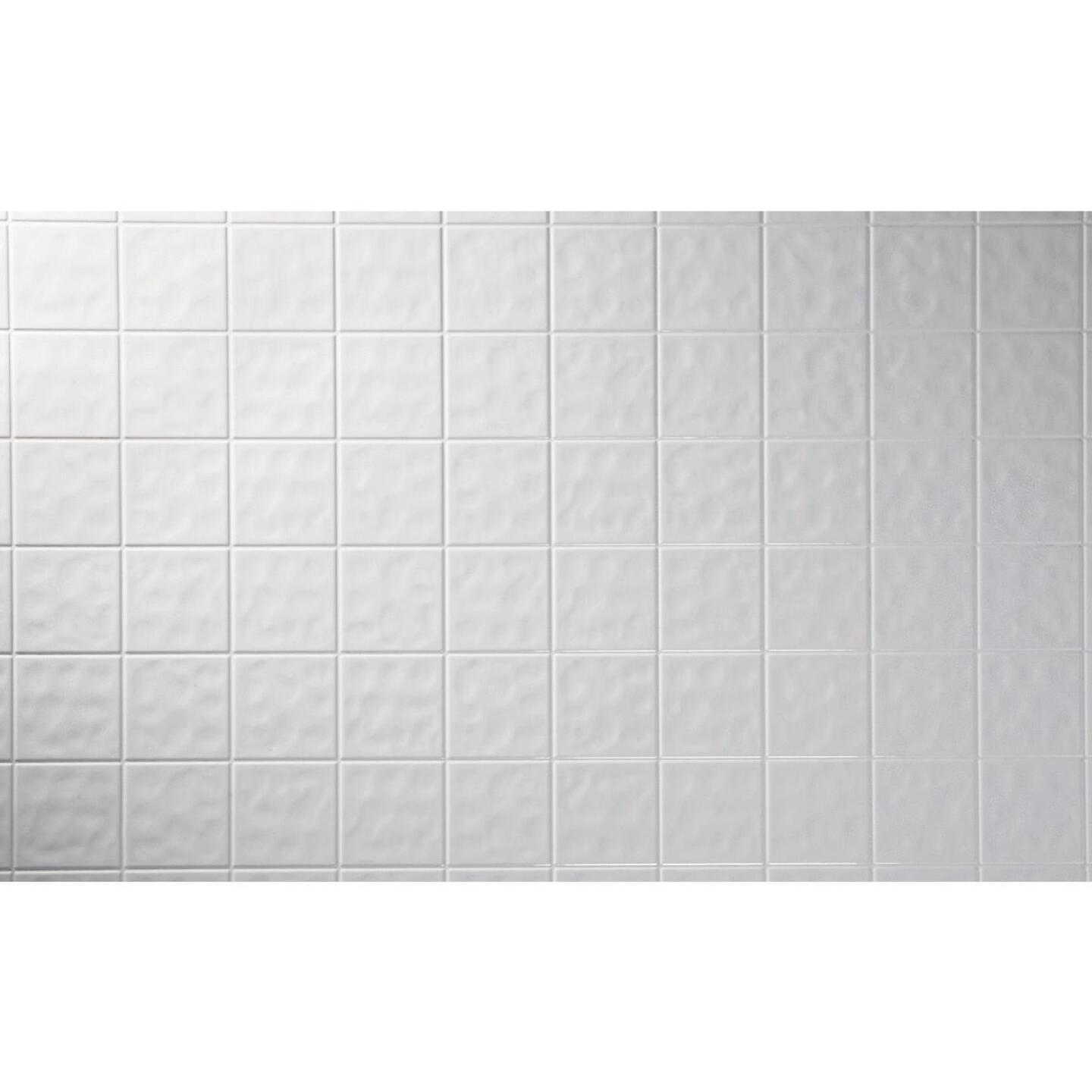 DPI AquaTile 4 Ft. x 8 Ft. x 1/8 In. White Tileboard Wall Paneling Image 2