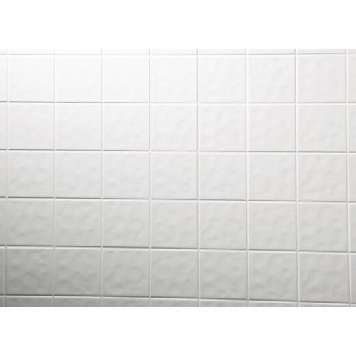 DPI AquaTile 4 Ft. x 8 Ft. x 1/8 In. White Tileboard Wall Paneling