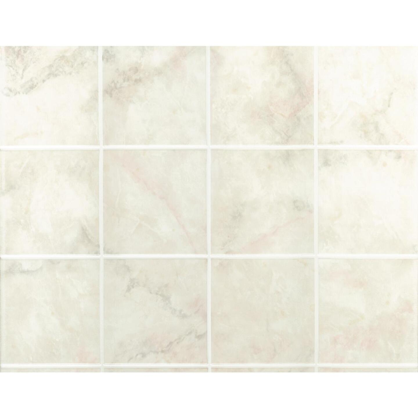 DPI AquaTile 4 Ft. x 8 Ft. x 1/8 In. Beige Milan Marble Tileboard Wall Paneling Image 3