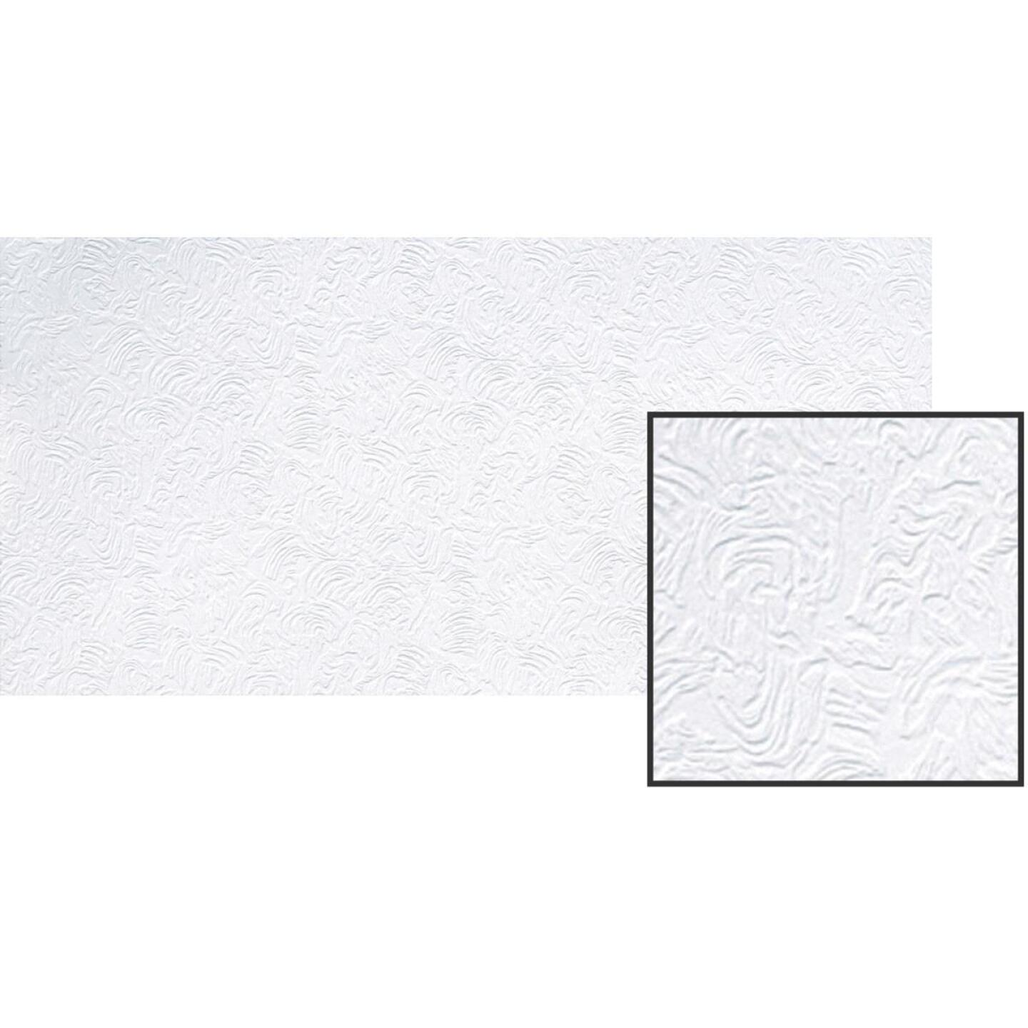 BP LifeStyle Caravelle 2 Ft. x 4 Ft. White Wood Fiber Suspended Ceiling Tile (8-Count) Image 2