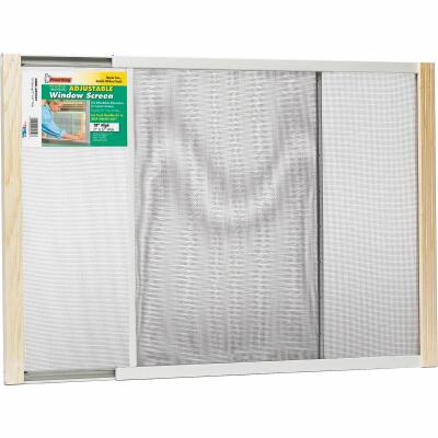 Frost King 21 to 37 In. W. x 18 In. H. Adjustable Metal Rail Screen