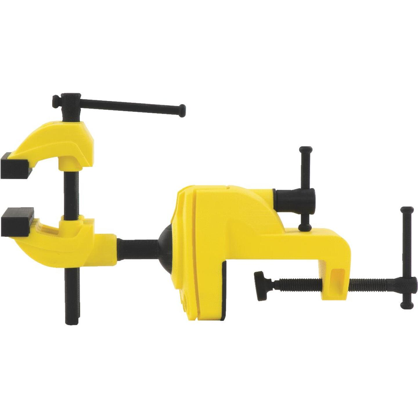 Stanley MaxSteel 2-1/2 In. Multi-Angle Clamp-On Vise Image 2
