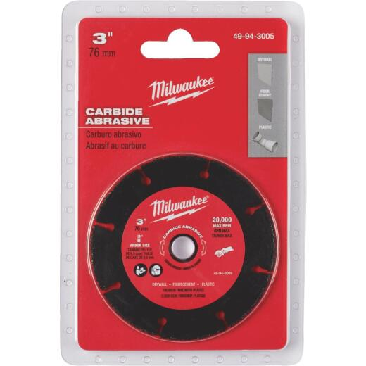 Milwaukee 3 In. Carbide Abrasive Circular Saw Blade