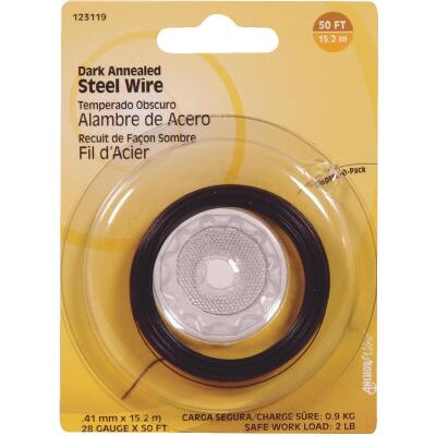 Hillman Fastener Corp 50 Ft. 28 Ga. Dark Annealed Steel Wire