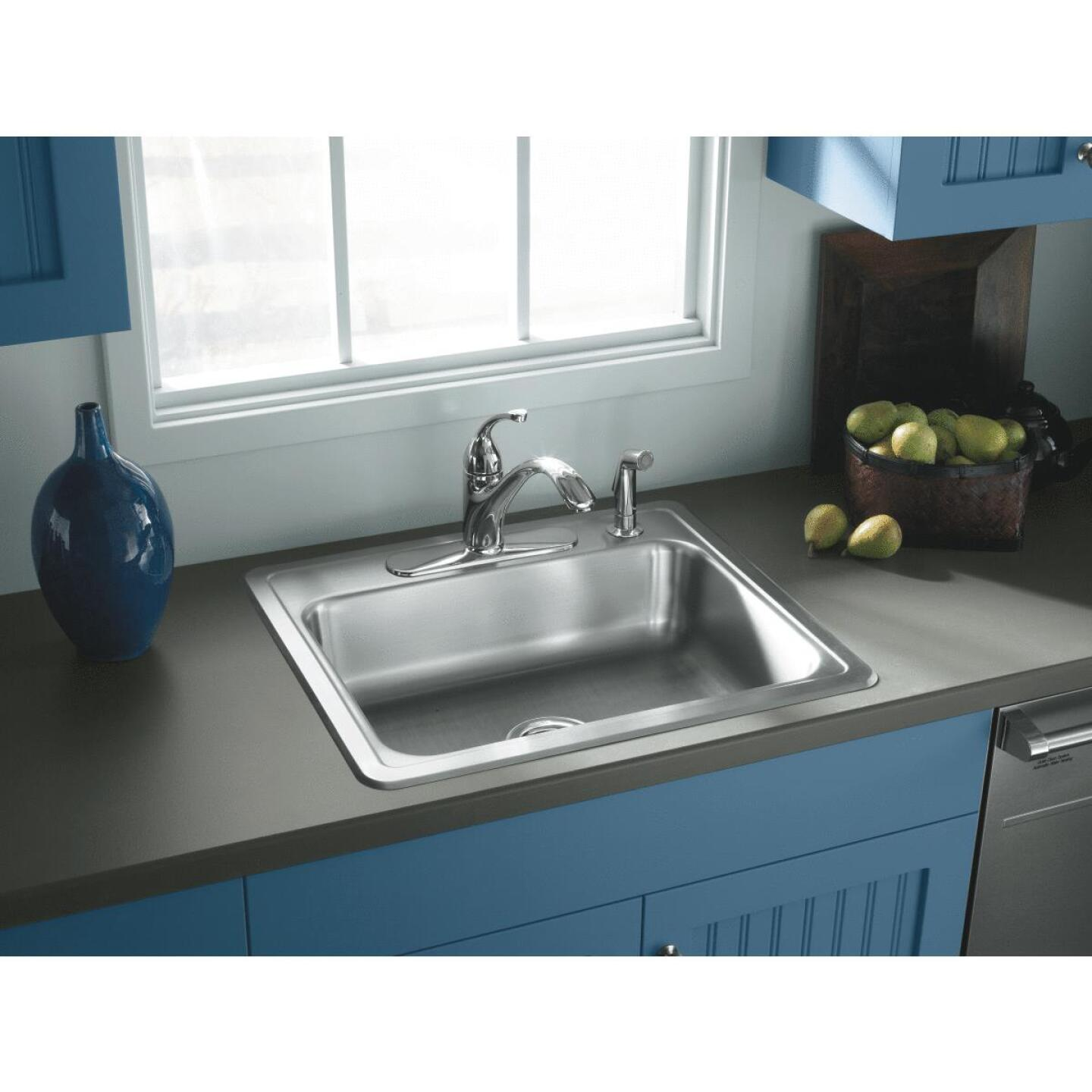 Elkay Single Bowl Sink 6 In. Deep Stainless Steel Image 2