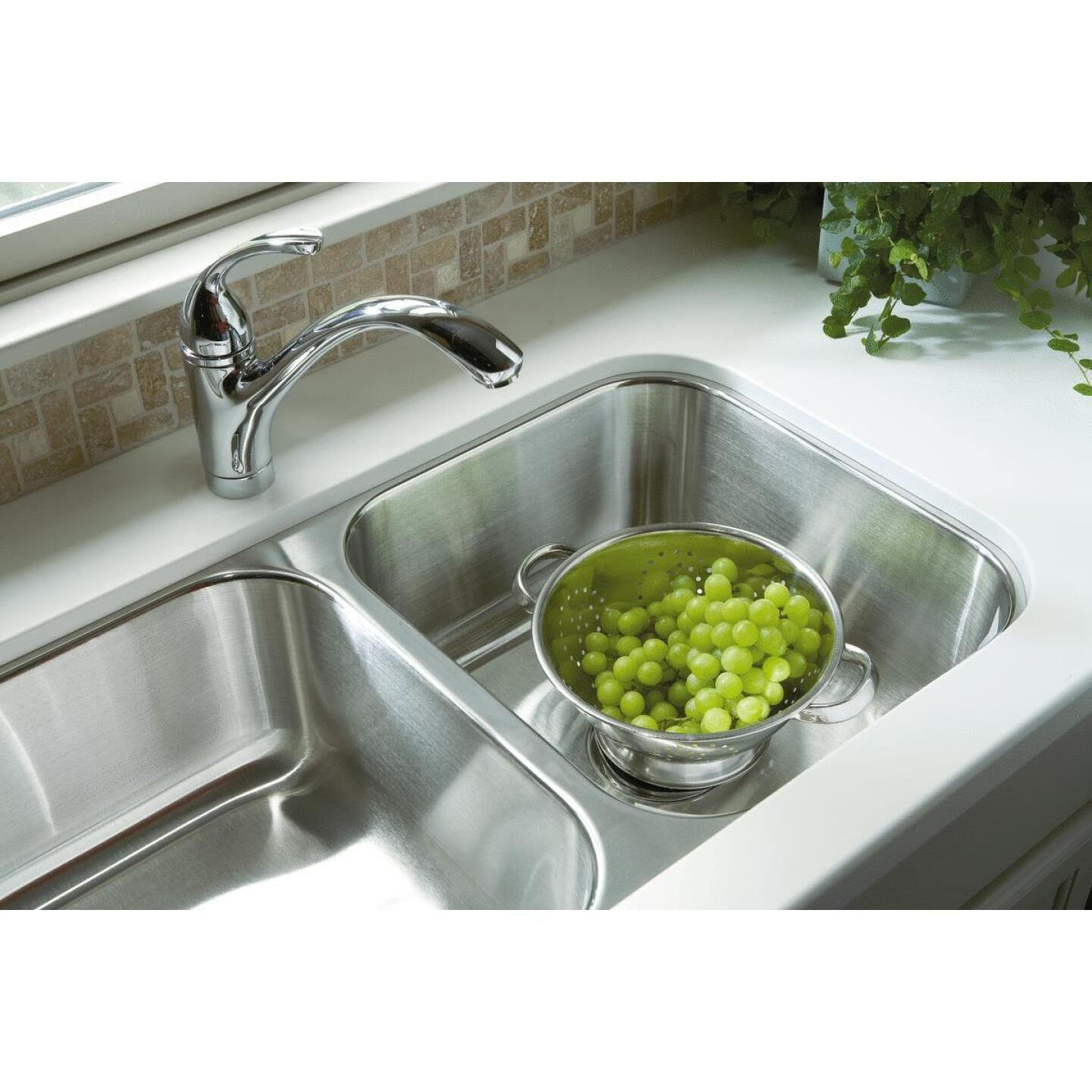 Sterling 8 In. Stainless Steel Undermount Sink Image 2