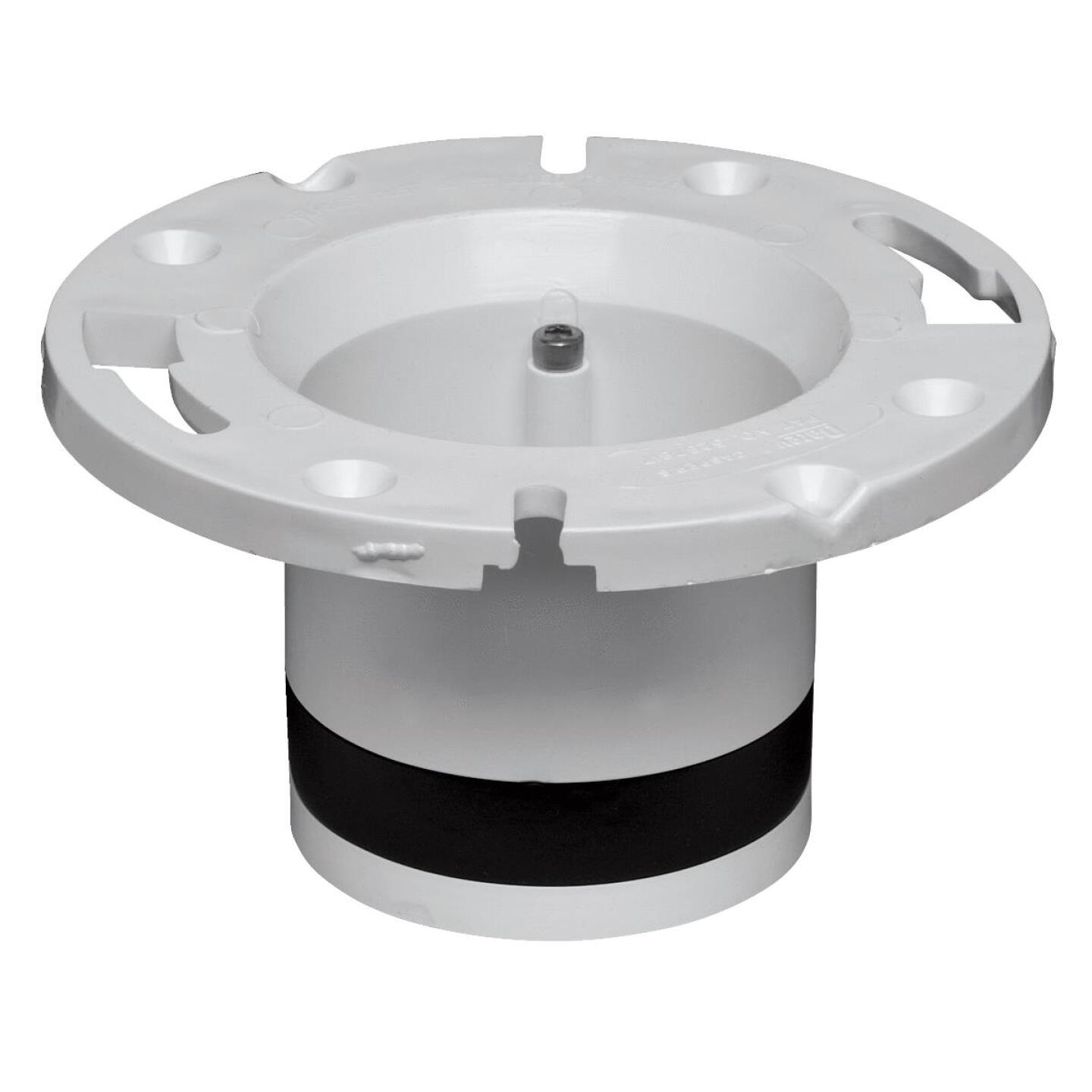 Oatey 4 In. Schedule 40 DWV Replacement PVC Closet Flange Image 1