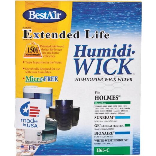 BestAir Extended Life Humidi-Wick H65 Humidifier Wick Filter