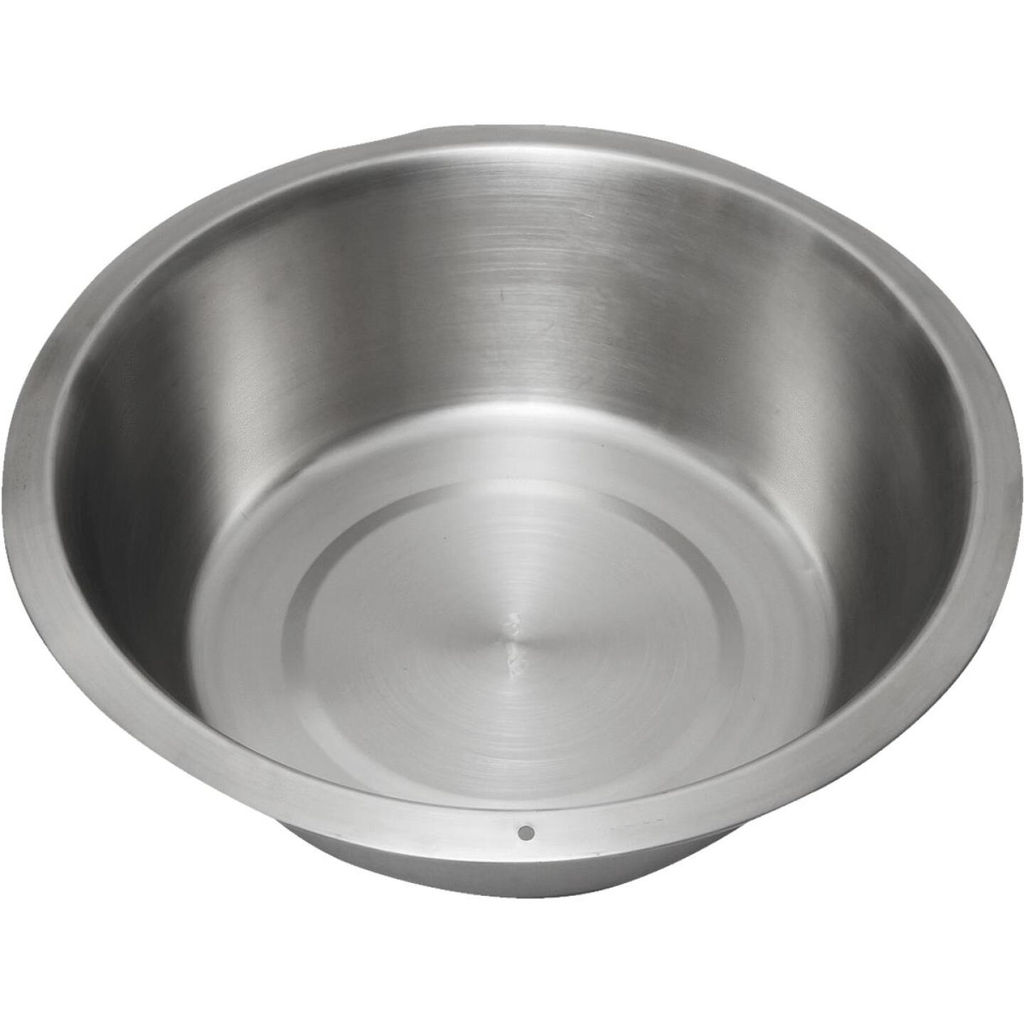 Lindy's 15 Qt. Stainless Steel Flat Bottom Dishpan Image 1
