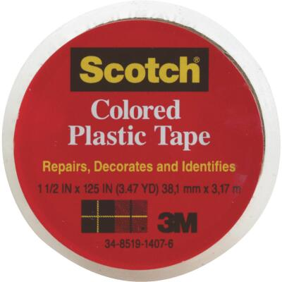 Scotch 1-1/2 In. Clear Plastic Tape