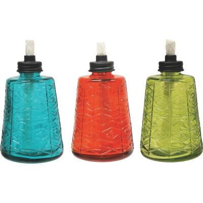 Tiki 6.5 In. Molded Glass Table Torch