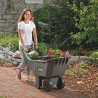 Ames Easy Roller 4 Cu. Ft. 250 Lb. Poly Garden Cart Image 2