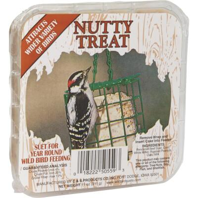 C&S 11 Oz. Nutty Treat Wild Bird Suet