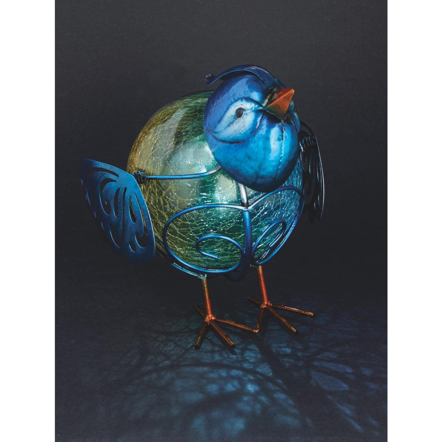 Outdoor Expressions 7.5 In. H. x 6 In. Dia. Bird Solar Light Image 2