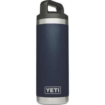 Yeti Rambler 18 Oz. Navy Blue Stainless Steel Insulated Vacuum Bottle