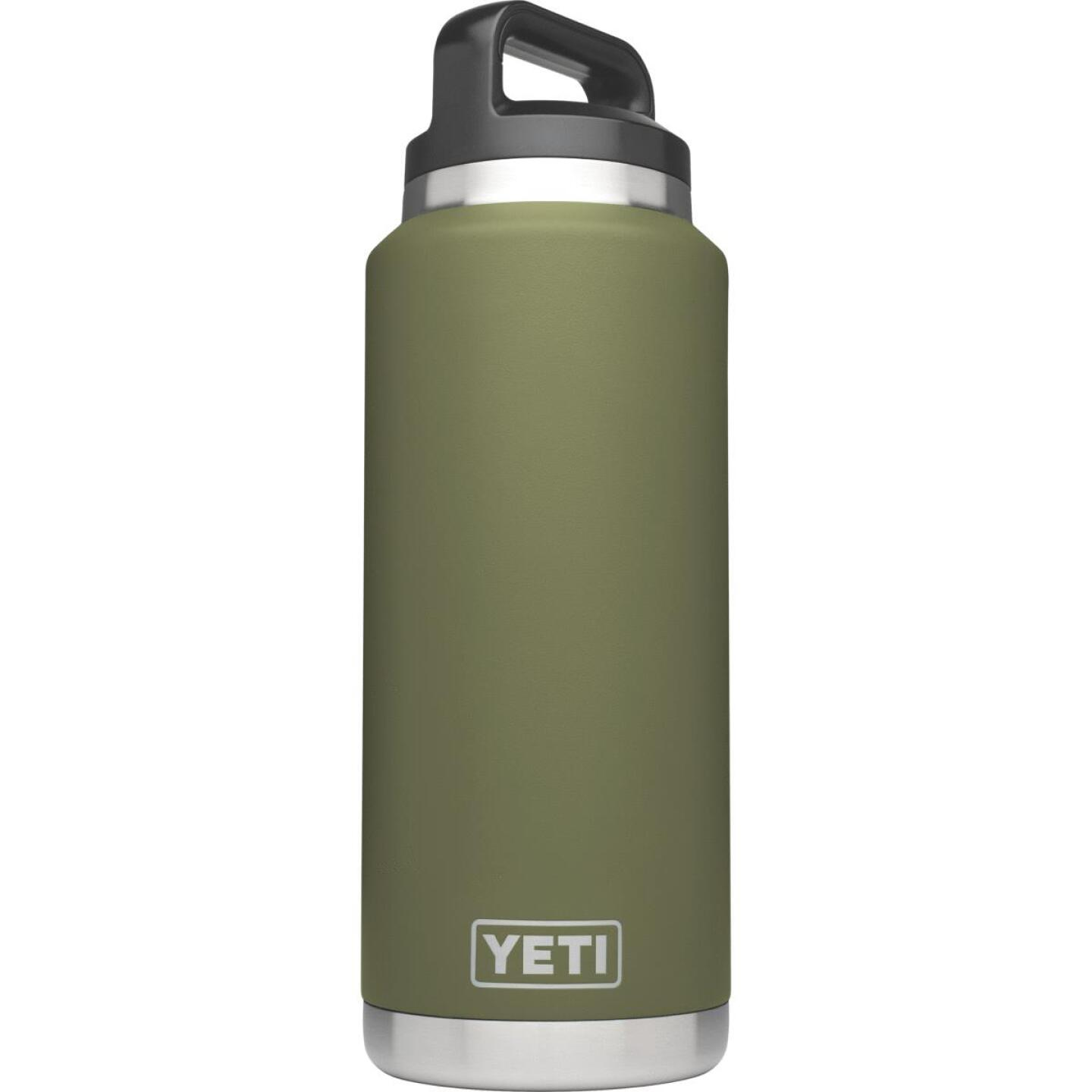 Yeti Rambler 36 Oz. Olive Green Stainless Steel Insulated Vacuum Bottle Image 1