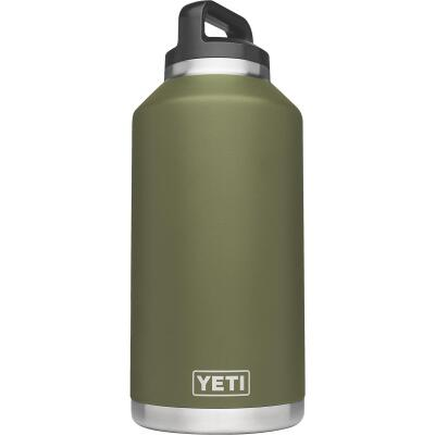 Yeti Rambler 64 Oz. Olive Green Stainless Steel Insulated Vacuum Bottle