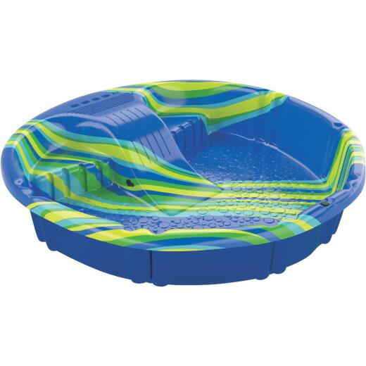 H2O 12 In. D. x 60 In. Dia. Blue Polyethylene Econo Slide Pool